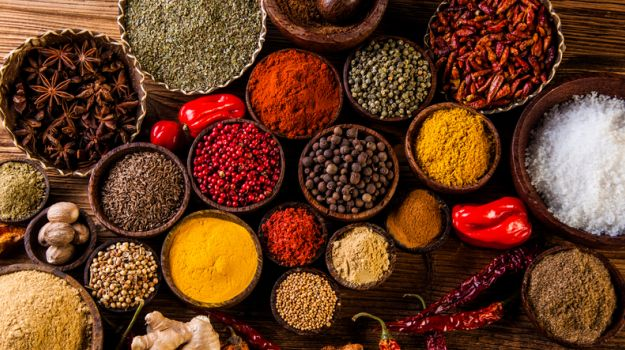 Image result for The different ingredients in Indian cooking
